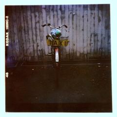 looking at things   abandoned. Camera: Lubitel 166. Film: Kodak 160NC. Cross Processed.