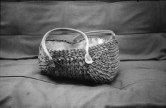 Wasted & Abandoned: Shoes and Bags. Camera: Zorki 1. Film: Foma Retropan 320.