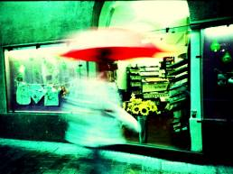 Coffee Rain. Camera: Lomo LC-A. Film: cross processed.